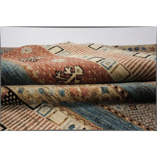 Handgeknoopt Modern Art Deco tapijt 301x199 cm  oosters kleed vloerkleed