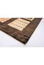 ZARGAR RUGS Handgeknüpft Modern Art Deco 300x200 cm Abstrakt Wolle Teppich