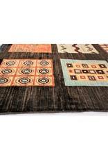 ZARGAR RUGS Hand knotted 9'8x6'5 Modern  Art Deco Wool Rug 300x200 cm  Abstract Carpet
