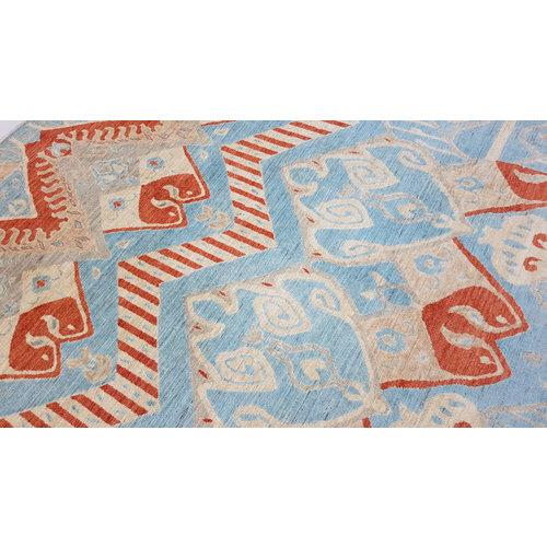 Handgeknüpft Modern Art Deco 294x200 cm Abstrakt Wolle Teppich