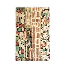 ZARGAR RUGS Hand knotted 9'9x6'6 Modern  Art Deco Wool Rug 303x203 cm  Abstract Carpet