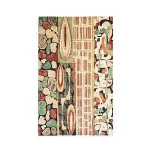 Handgeknüpft Modern Art Deco 303x203 cm Abstrakt Wolle Teppich
