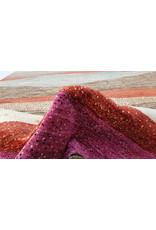 ZARGAR RUGS Handgeknüpft Modern Art Deco 298x202 cm Abstrakt Wolle Teppich
