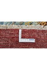 ZARGAR RUGS Handgeknüpft Modern Art Deco 292x200 cm Abstrakt Wolle Teppich