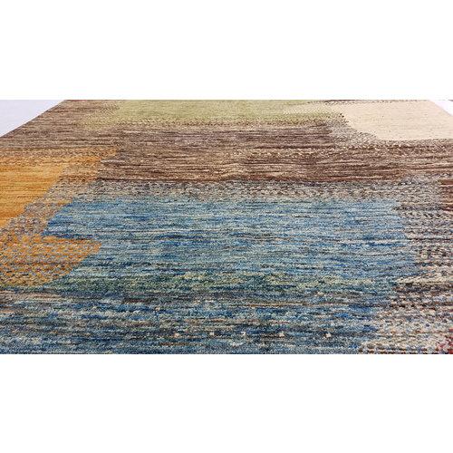 Handgeknoopt Modern Art Deco tapijt 292x200 cm  oosters kleed vloerkleed