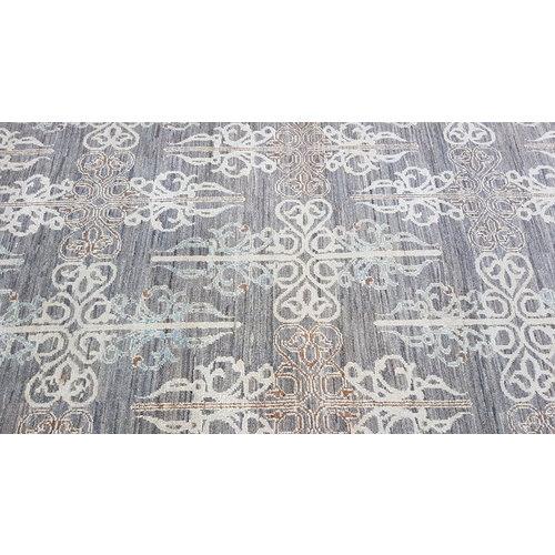 Handgeknüpft Modern Art Deco 297x194 cm Abstrakt Wolle Teppich