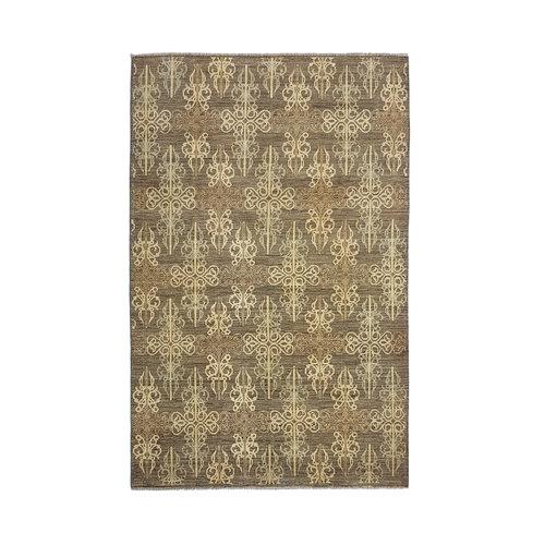 Handgeknoopt Modern Art Deco tapijt 297x194 cm  oosters kleed vloerkleed