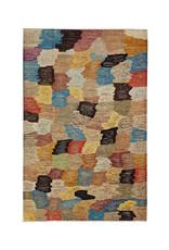 ZARGAR RUGS Hand knotted 9'7x6'5 Modern  Art Deco Wool Rug 297x200 cm  Abstract Carpet
