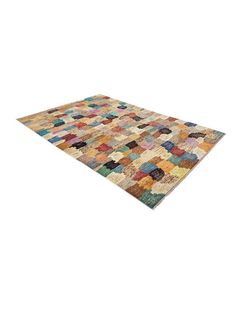 ZARGAR RUGS  Handgeknoopt Modern Art Deco tapijt 294x201 cm  oosters kleed vloerkleed
