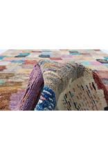 ZARGAR RUGS Handgeknüpft Modern Art Deco 294x201 cm Abstrakt Wolle Teppich