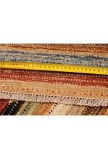 ZARGAR RUGS Handgeknüpft Modern Art Deco 302x195 cm  Abstrakt Wolle Teppich multi