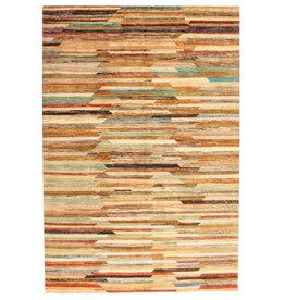 ZARGAR RUGS Hand knotted 9'90x6'39 Modern  Art Deco Wool Rug 302x195 cm   Abstract Carpet   multi
