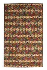 ZARGAR RUGS Handgeknüpft Modern Art Deco 320x196 cm   Abstrakt Wolle Teppich multi