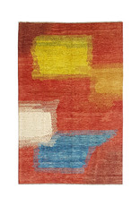 ZARGAR RUGS  Handgeknoopt Modern Art Deco tapijt 293x198 cm  oosters kleed vloerkleed  multi