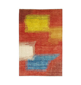 ZARGAR RUGS Hand knotted 9'61x6'33 Modern  Art Deco Wool Rug 293x198 cm   Abstract Carpet   multi