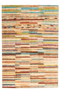 Hand knotted 9'64x6'56 Modern  Art Deco Wool Rug 294x200 cm  Abstract Carpet   multi