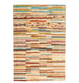 ZARGAR RUGS Hand knotted 9'64x6'56 Modern  Art Deco Wool Rug 294x200 cm  Abstract Carpet   multi