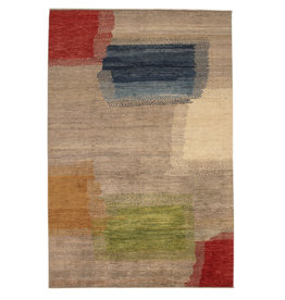 ZARGAR RUGS Hand knotted 9'64x6'43 Modern  Art Deco Wool Rug 294x196 cm  Abstract Carpet   multi