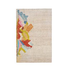 ZARGAR RUGS Hand knotted 9'67x6'56 Modern  Art Deco Wool Rug  295x200 cm Abstract Carpet   multi