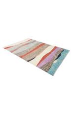 ZARGAR RUGS  Handgeknoopt Modern Art Deco tapijt 293x200 cm  oosters kleed vloerkleed  multi