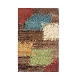 ZARGAR RUGS Hand knotted 9'67x6'43 Modern  Art Deco Wool Rug 295x196 cm   Abstract Carpet   multi