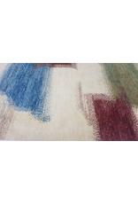 ZARGAR RUGS Handgeknüpft Modern Art Deco  296x197 cm Abstrakt Wolle Teppich multi