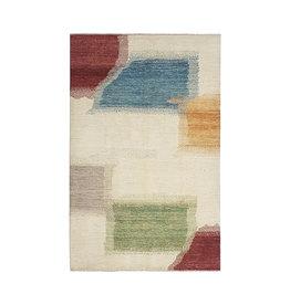 ZARGAR RUGS Hand knotted 9'77x6'56 Modern  Art Deco Wool Rug 298x200cm Abstract Carpet   multi