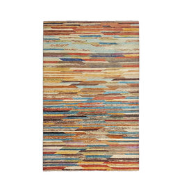 ZARGAR RUGS Hand knotted 9'61x6'43 Modern  Art Deco Wool Rug  293x196 cm Abstract Carpet   multi