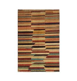 ZARGAR RUGS Hand knotted 9'61x6'49 Modern  Art Deco Wool Rug  291x198 cm Abstract Carpet   multi