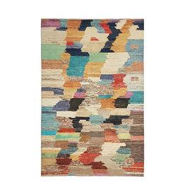ZARGAR RUGS Hand knotted 9'74x6'56 Modern  Art Deco Wool Rug  297x200cm  Abstract Carpet   multi