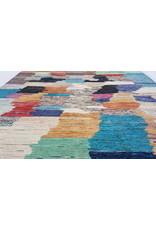 ZARGAR RUGS  Handgeknoopt Modern Art Deco tapijt 297x200cm  oosters kleed vloerkleed  multi