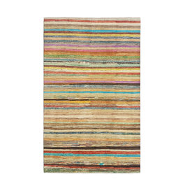 ZARGAR RUGS Hand knotted 9'67x6'43 Modern  Art Deco Wool Rug 295x196cm  Abstract Carpet   multi