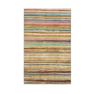 Hand knotted 9'67x6'43 Modern  Art Deco Wool Rug 295x196cm  Abstract Carpet   multi