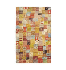 ZARGAR RUGS Hand knotted 9'74x6'46 Modern  Art Deco Wool Rug  297x197cm Abstract Carpet   multi