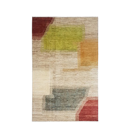 ZARGAR RUGS Hand knotted 9'77x6'46 Modern  Art Deco Wool Rug  298x197cm Abstract Carpet   multi