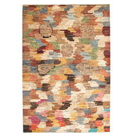 ZARGAR RUGS Hand knotted 9'67x6'59 Modern  Art Deco Wool Rug  295x201cm  Abstract Carpet   multi