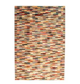 ZARGAR RUGS Hand knotted 9'84x6'62 Modern  Art Deco Wool Rug 300x202cm  Abstract Carpet   multi