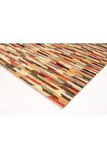 ZARGAR RUGS Handgeknüpft Modern Art Deco 300x202cm Abstrakt Wolle Teppich multi
