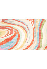 ZARGAR RUGS Hand knotted 9'87x6'75 Modern  Art Deco Wool Rug 301x206cm  Abstract Carpet   multi