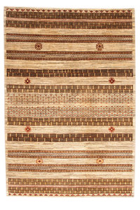 Hand knotted 9'18x6'03 Modern  Art Deco Wool Rug 280x184cm   Abstract Carpet   multi