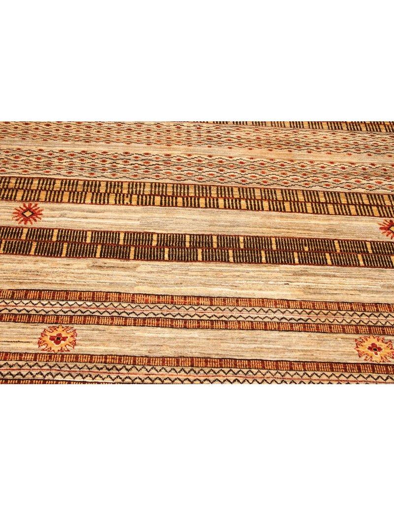 ZARGAR RUGS  Handgeknoopt Modern Art Deco tapijt 280x184cm  oosters kleed vloerkleed  multi