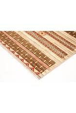 ZARGAR RUGS Handgeknüpft Modern Art Deco 280x184cm   Abstrakt Wolle Teppich multi