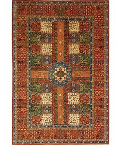 super fijn oriental kazak vloerkleed 354x256 cm