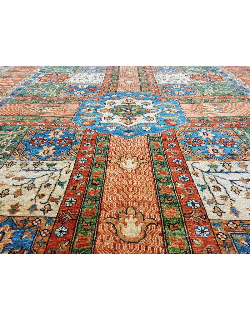 super fein oriental kazak teppich 354x256 cm