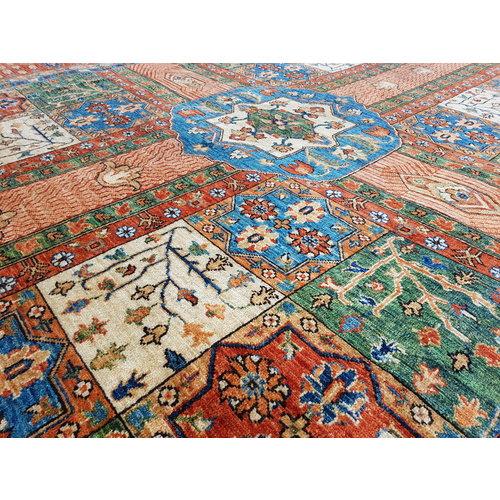 11'61 x 8'39 super fine oriental kazak rug 354x256 cm