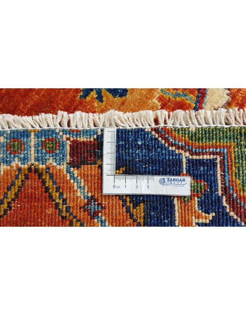 super fijn oriental kazak vloerkleed 338x243 cm