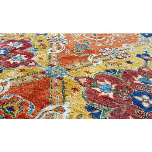 super fein oriental kazak teppich 338x243 cm