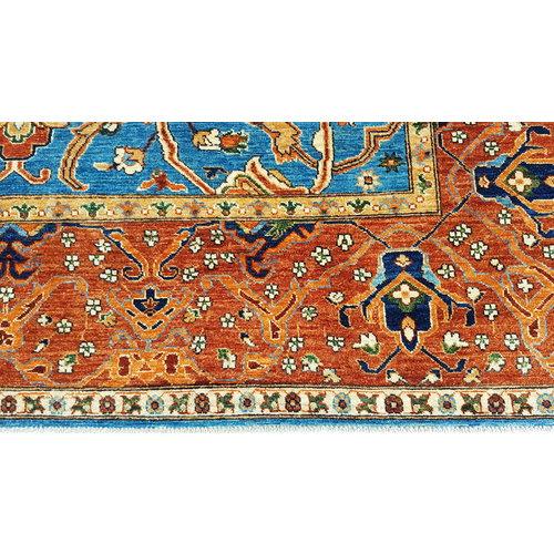(11'7 x 8'4) feet super fine oriental kazak rug 359x259 cm