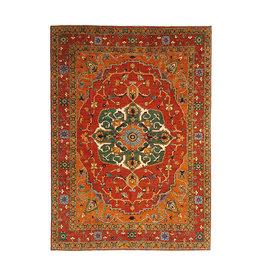 (11'1 x 8'5) feet super fine oriental kazak rug 340x260 cm  heriz design