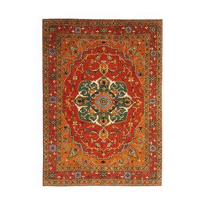 (11'1 x 8'5) feet super fine oriental kazak rug 340x260 cm serapi heriz design